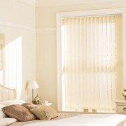 Vertical blinds - blossom parchment