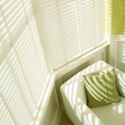 wooden blinds - chalk white 2