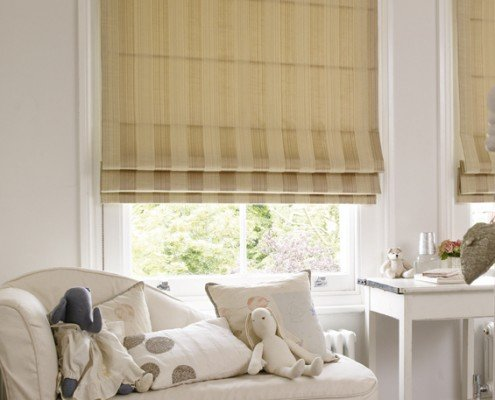 Roman blinds - roman-heavy-fabric