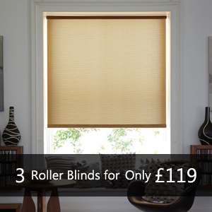 3 ~Roller Blinds for £119